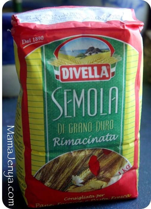 Итальянская мука семола Semola