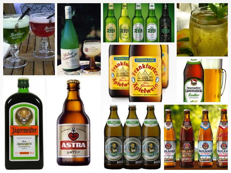Немецкие напитки