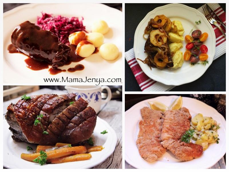 немецкая кухня рецепты с фото