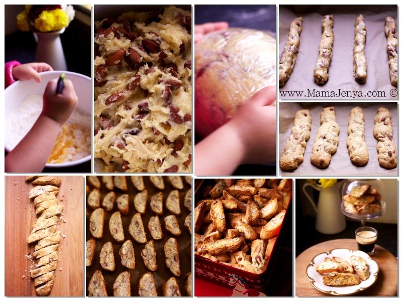 Кантуччини Cantuccini рецепт с фото