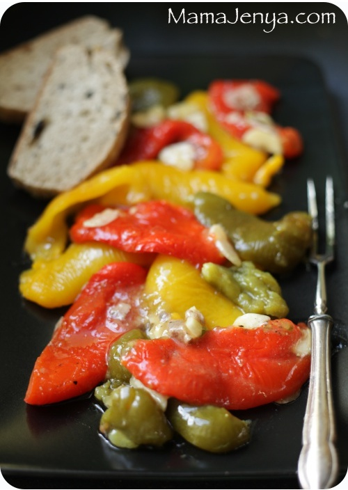 Маринованные перцы с анчоусами и чесноком по-итальянски рецепт с фото