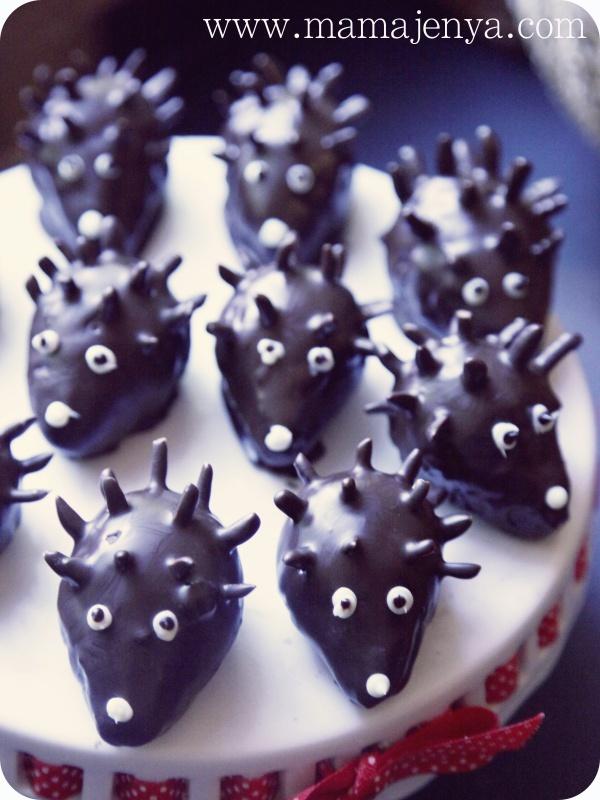 Пирожные Ёжики