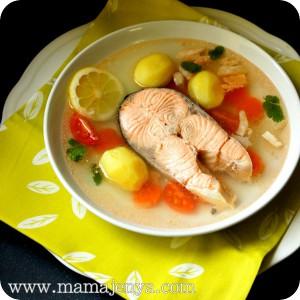 Уха рыбацкая рецепт с фото