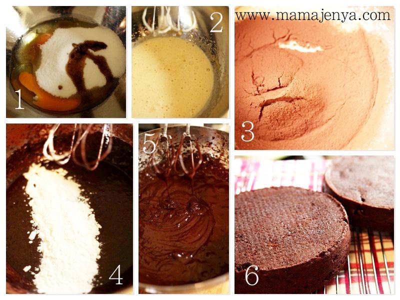Шоколадный торт тесто