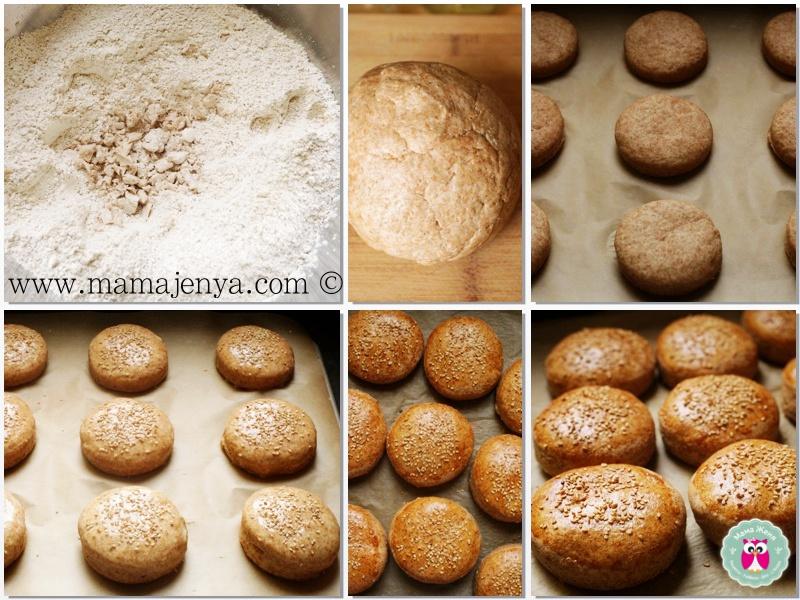 Булочки для гамбергеров (Buns) рецепт с фото