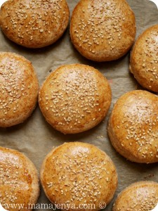 Булочки для гамбургеров (Burger Buns) рецепт с пошаговыми фото