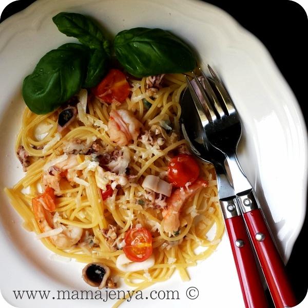 Быстрая паста Фрутти ди марё рецепт
