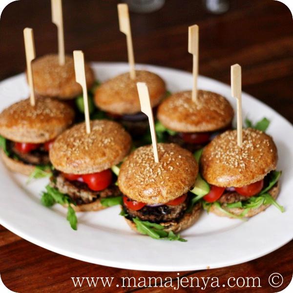 Домашние гамбургеры рецепт с фото