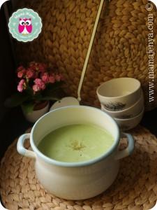 Кремовый суп из брокколи рецепт