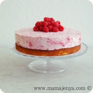 Малиновый торт суфле рецепт с фото