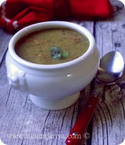 Суп из дала (маша) рецепт