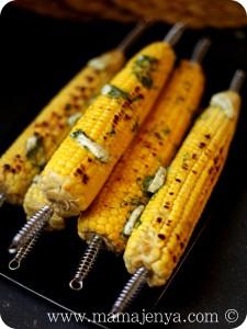 Кукуруза с укропным маслом рецепт с фото