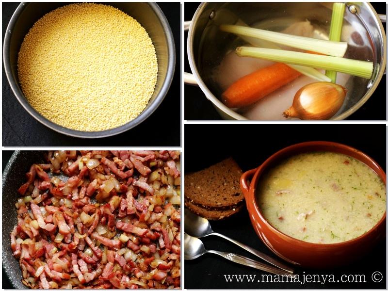 Суп полевой рецепт с фото