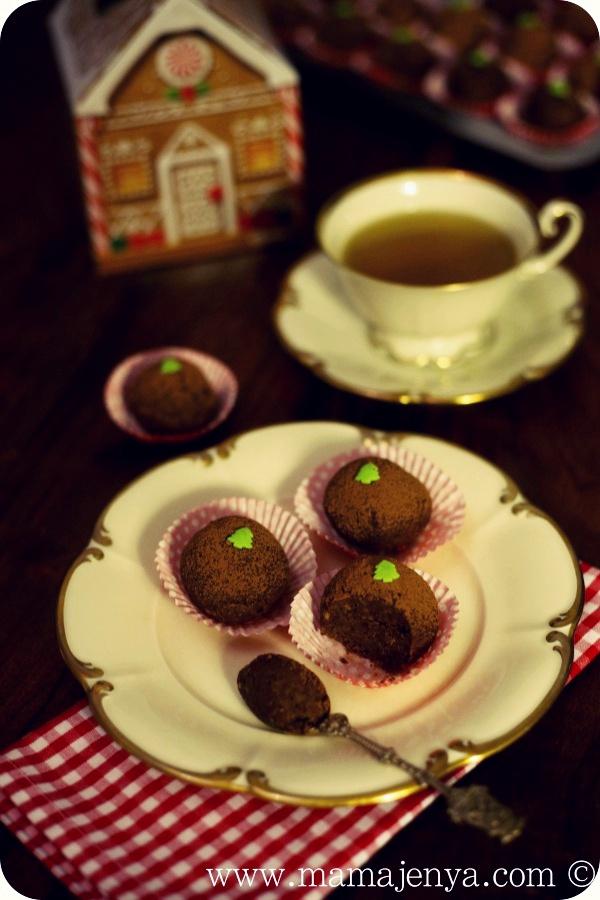 Ромовые шарики пирожные