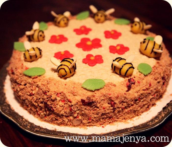 Медовик пчёлка рецепт с фото