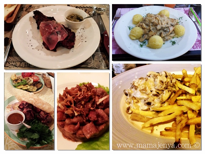 Мясные блюда Одесса