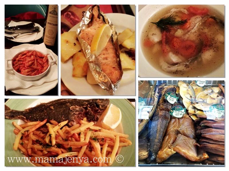 Рыбные блюда Одесса