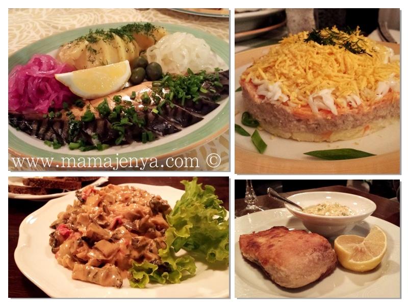 Рыбные блюда рецепты