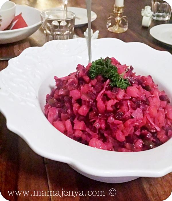 Винегрет салат рецепт с фото