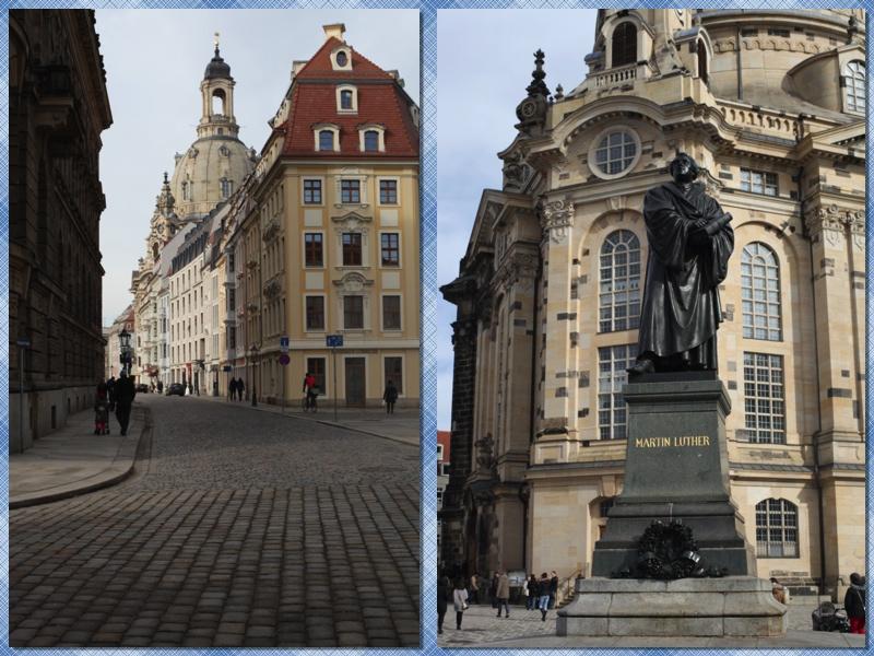 Дрезден женская церковь и мартин лютер