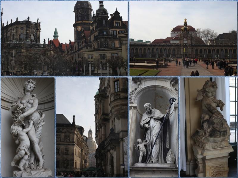 Статуи Дрезден