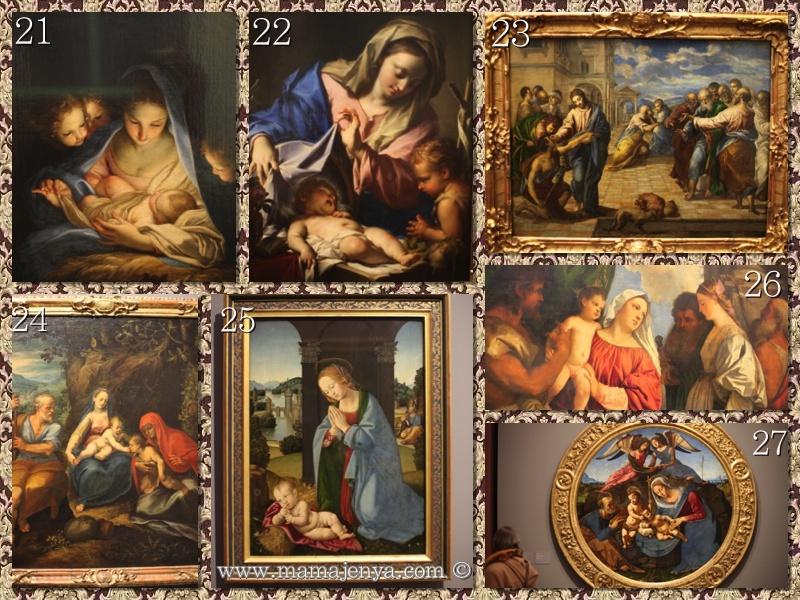 Святая Мария с младенцем