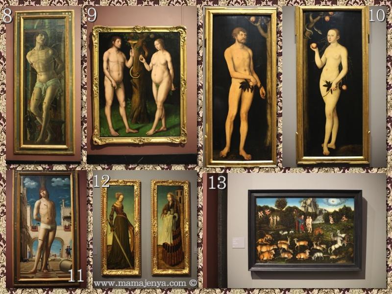 Святые Дрезденская галерея
