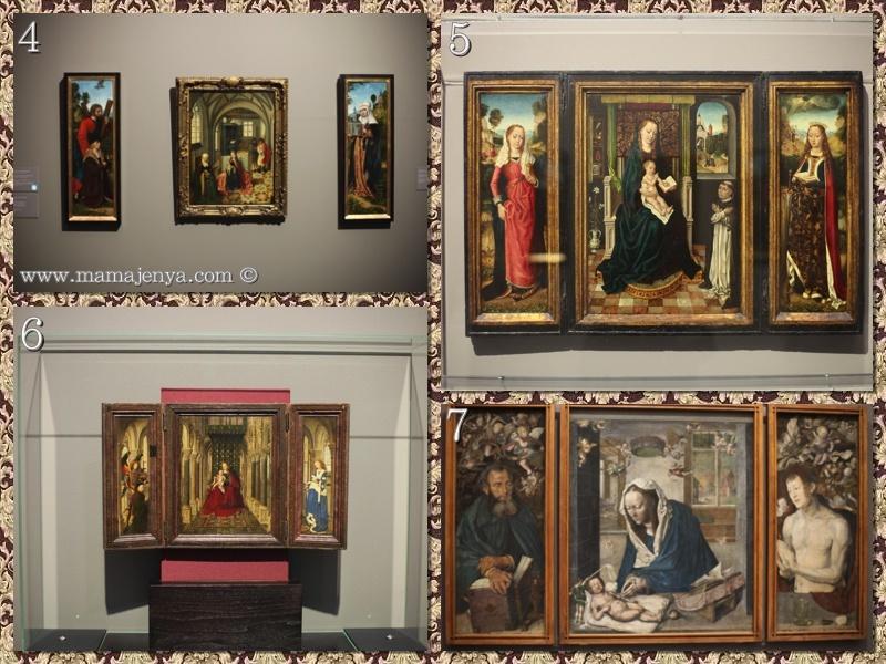 Триптихоны картинная галерея Дрезден