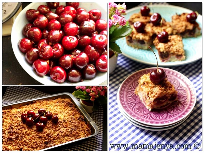 Вишневый пирог рецепт с пошаговыми фото