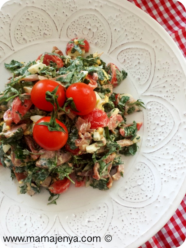 Салат Чикен рецепт с фото 2