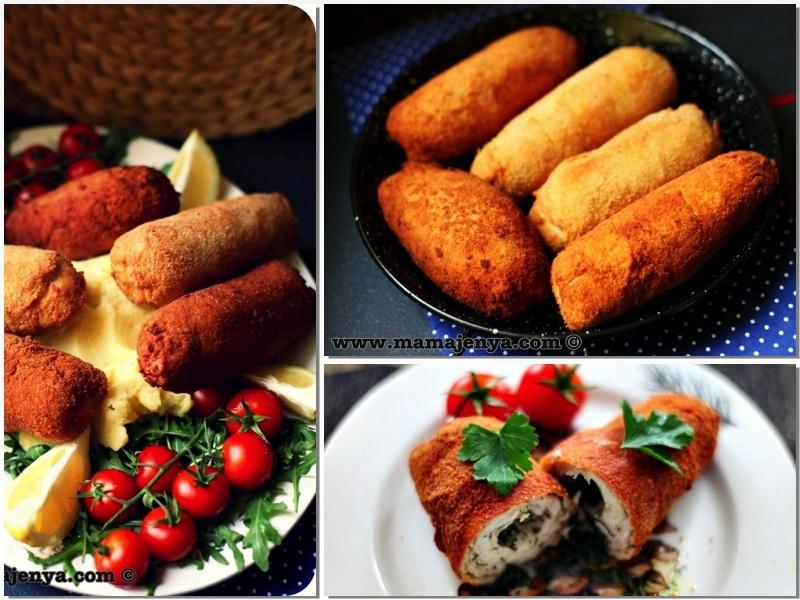 Котлеты по-киевски рецепт с пошаговым фото