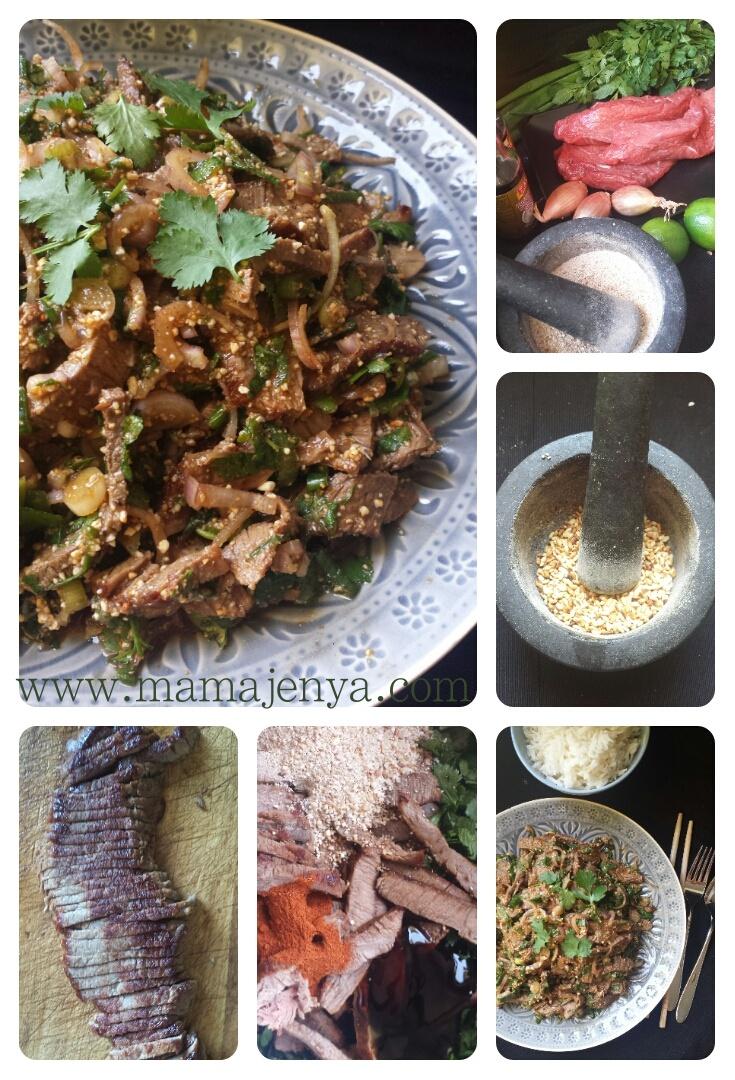 Нам ток тайский салат рецепт с фото