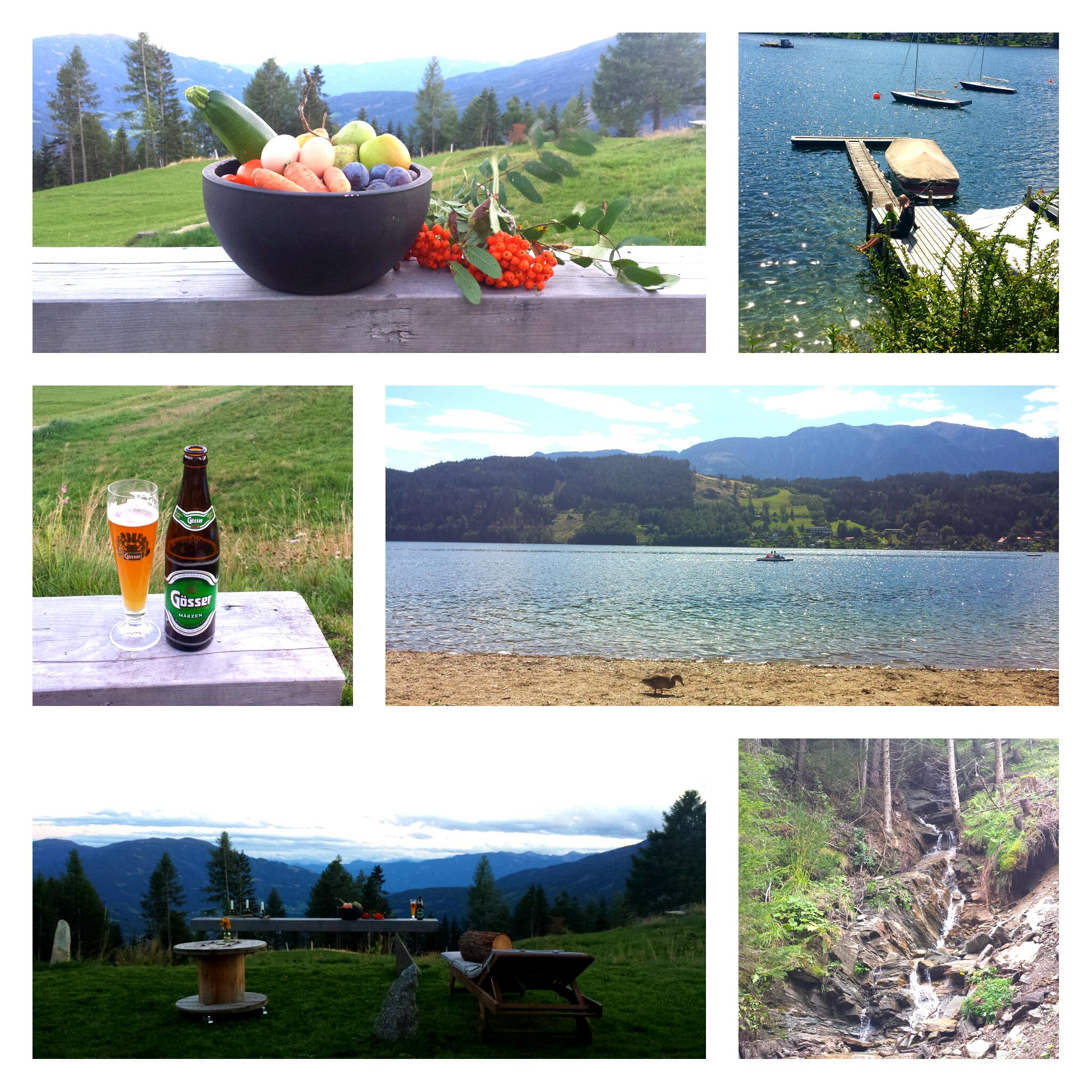 Австрия горы гёссер