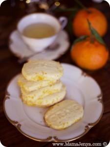 Апельсиновое печенье рецепт с фото