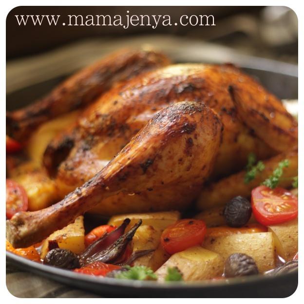 Курица в испанском стиле рецепт с фото